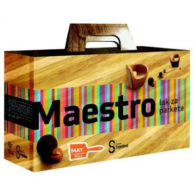 Maestro 2K PU. Лак для паркета – МАТОВЫЙ