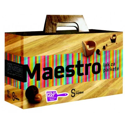 Maestro 2K PU. Лак для паркета – ПОЛУМАТОВЫЙ