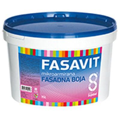 Fasavit. Микроармированная фасадная краска