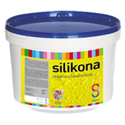 Silikona. Самоочищающаяся силиконовая фасадная краска