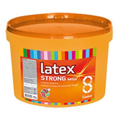 Latex Strong - Satin. Краска для внутренних стен